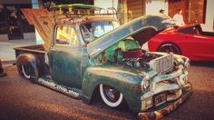 Nice Amazing 1955 Chevrolet Other Pickups 3100 1955 chevy 3100 Five window rat rod, hot rod, LS engine, ice cold A/C, air ride 2017/2018 Check more at http://24auto.ga/2017/amazing-1955-chevrolet-other-pickups-3100-1955-chevy-3100-five-window-rat-rod-hot-rod-ls-engine-ice-cold-ac-air-ride-20172018/