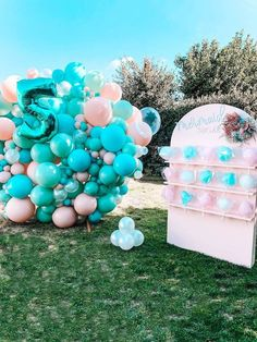 Turquoise and Pink Mermaid Birthday Party on Kara's Party Ideas | KarasPartyIdeas.com (28)