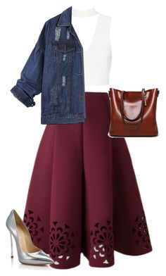 """Untitled #297"" by ellmoonlightqueen ❤ liked on Polyvore featuring Casadei"