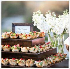 Mini Wedding Food ♥