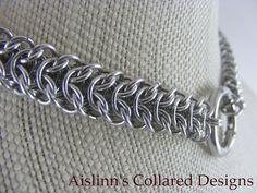 Elf Bridge BDSM Gorean Slave Collar Choker by aislinnscollared