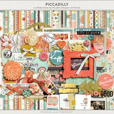 Piccadilly mega kit freebie from Pixels & Company