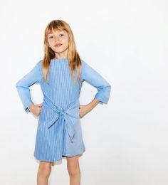 Image 1 of STRIPED SHIRT DRESS from Zara
