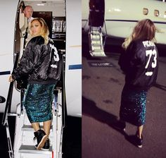 #Beyoncé wearing #Nike Dunk Sky Hi