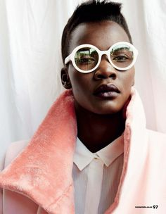 MARIE CLAIRE SOUTH AFRICA 2015 | Editorials. Tricia Akello. Marie Claire South Africa. Images by ...