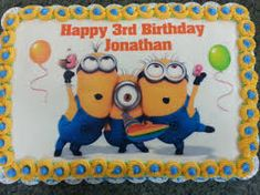 Image result for minions cakes with gru