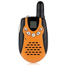 FLOUREON 22 Channel FRSGMRS Twin Walkie Talkies UHF462467MHz 2Way Radio 3KM Range Interphone for Outdoor Activity >>> More info could be found at the image url.