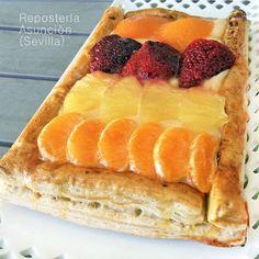 Hojaldre de frutas y crema < Divina Cocina