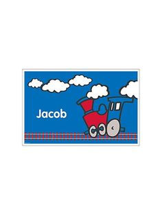 Train Party Personalized Placemat