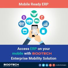 Access ERP on your mobile with Ganit Info Systems. Software Development, Mobile App, Apps, Tech, Mobile Applications, App, Technology, Appliques