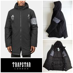 PUMA X TRAPSTAR TEAM PARKA DOWN JACKET Coat 571823 SAMPLE Men's Medium $400 (M)  #PUMA #OtherJackets