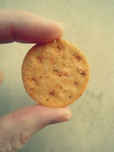 Better than Better Cheddars Recipe     gluten-free, vegan     Make approx 50 round crackers