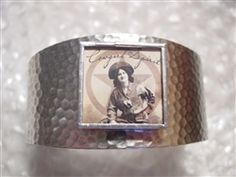 hand soldered glass art cuff bracelet