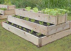 Vertical Container Herb Garden