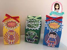 caixinha super heroi - Pesquisa Google