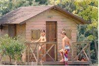 La casetta appena costruita ( 1994 ) . .