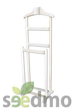 En tu #dormitorio coloca la ropa en este GALAN DOBLE  perchero Tu tienda Online. http://seedmo.com/index.php/en-crudo/galanes/galan-doble.html