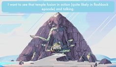 """I want to see that temple fusion in action (quite likely in flashback episode) and talking."" -Anonymous Oh yes,me too!!!"