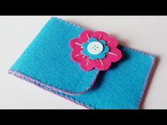 Making felt phone case | cover for smart phone or tablet | HandiWorks #46 - YouTube