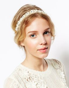 Limited Edition Faux Pearl Crown Headband