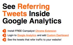 New Post: Find out which tweets refer most traffic to your website