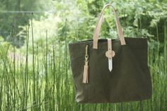 Neva Opet leather and canvas handbags