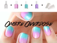 I love this ombre effect!