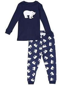 "Leveret Little Boys ""Polar Bear"" 2 Piece Pajama Set 100% Cotton (Size 2-8 Years) (5-6 Years, Navy) Leveret http://www.amazon.com/dp/B00E57AY4G/ref=cm_sw_r_pi_dp_9kTiwb1K5ZH15"