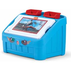 Step2 Thomas the Tank 2-in-1 Art Toy Box
