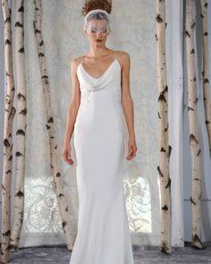 Elizabeth Fillmore Fall 2016 Wedding Dress Collection | Martha Stewart Weddings