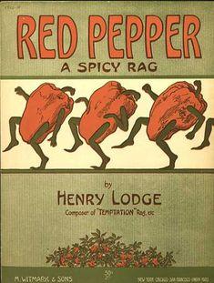 Sheet Music - Red pepper