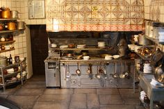 Miniatura de la cocina de Casa Botín, Madrid