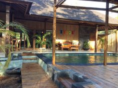 House in Lombok, Indonesia. Kubu Shanti is a new property situated on the Southern end of Gili Meno. A short walk to the best swimming, snorkelling, restaurants and bars on the Island! Private Retreat with pool and onsite management. Easily accessed from Bali and Lombok! Pri...