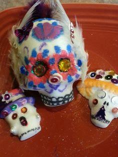 Sally's creations.