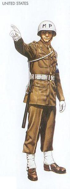 WWII Uniforms - US - 1942 Dec., London, Corporal, US Army Military Police