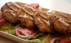 Picture of Cajun Chickpea Cakes
