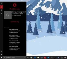 Assistant Microsoft digital cortana loses the possibility to identify the songs