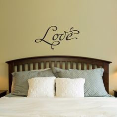 Love Wall Decal  Love Quote Decal  Phrase by StephenEdwardGraphic, $19.00
