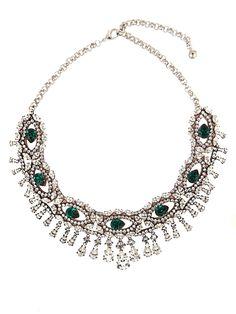 SHOUROUK Crystal-embellished necklace