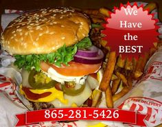 We have the Best Burger In Knoxville! Call Gyrene Burger now 865-281-5426 for your order. ************************************************* Order Online Now ➡️    www.GyreneBurger.com  #burger #knoxville #burgers #fortsanders #tennessee #cumberland #Gyrene #LocalKnoxvilleEvent  #USDiveTeam #knoxvillebestburger #gyreneburgerkx #gyreneburger #burgerrestaurant #knoxvilleburgerrestaurant #knoxvilleburger #universityoftennessee #usadiving #ut #dominospizza #tommonaghan #robwynkoop…