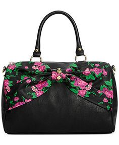Betsey Johnson Satchel - Betsey Johnson - Handbags & Accessories - Macy's