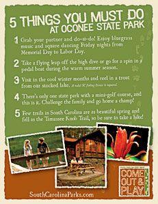Oconee State Park, SC, USA