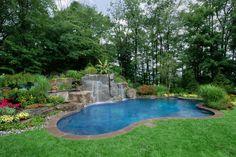 Ingroundpoollandscaping Inground Swimming Pool Landscaping Design Ideas Pictures Nj Pool