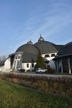 Stephaneum-Gebäude in Piliscsaba, Ungarn<br />Photo: ECI Copper Roof, Gazebo, Outdoor Structures, Copper, Copper Ceiling, Kiosk, Pavilion, Cabana