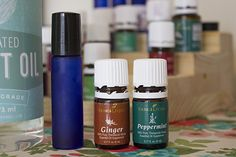 Motion Sickness preventer roll-on with Young Living Essential Oils