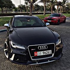 Audi RS7 & Challenger                                                                                                                                                     More