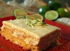 Pavê Rápído de Limão ~~ Lime Pastry ~~ Brazilian Recipes