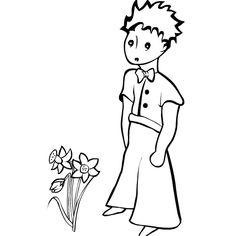 """Résultat de recherche d'images pour """"petit prince dessin à colorier"""""""