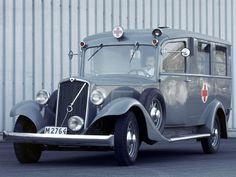 Volvo PV 650 1934, Ambulance Emergency/Police/Firetruck.