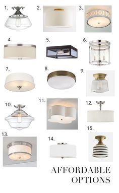 The 30 Best Flush Mount Lighting Fixtures HOME Lighting